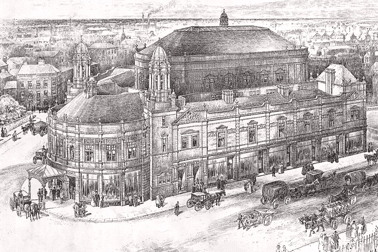 Artists impression of the building