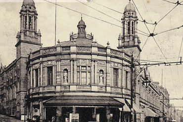 Old photograph of Victoria Hall