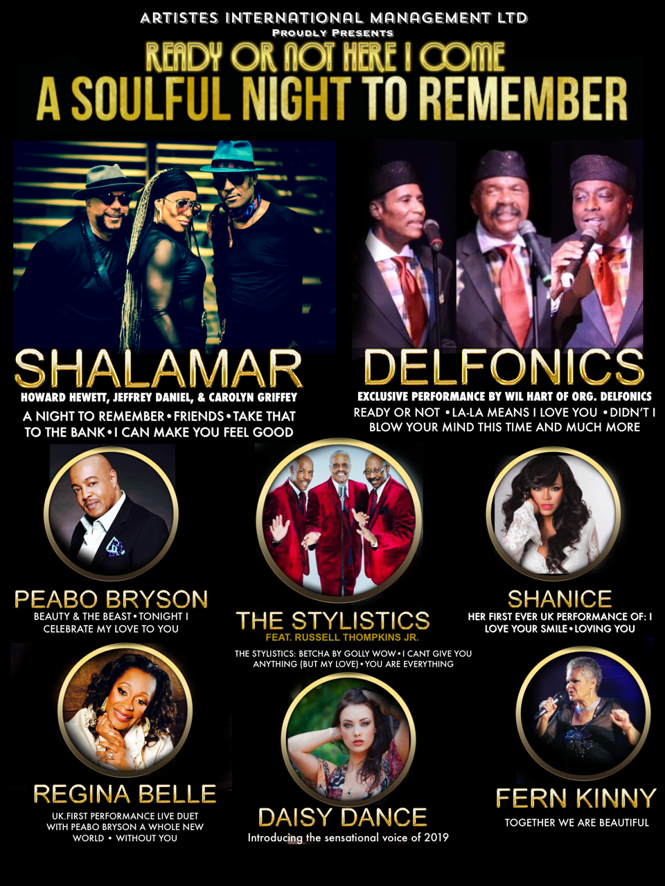 A Soulful Night To Remember Victoria Theatre