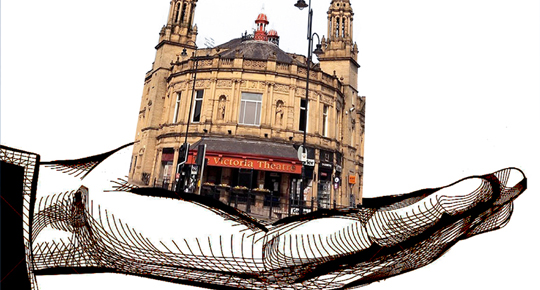 Friends of the Victoria Theatre illustration