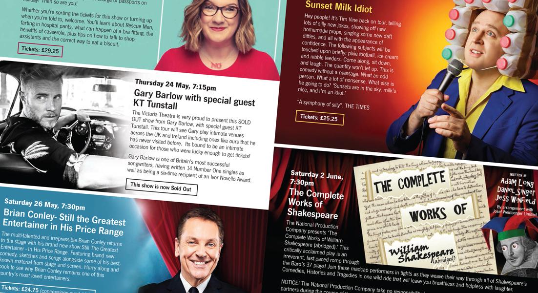 Victoria Theatre brochure