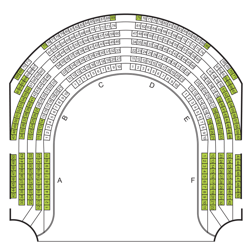 Circle seating plan