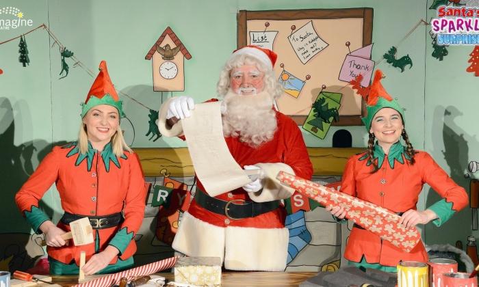 Santa's Sparkly Surprise