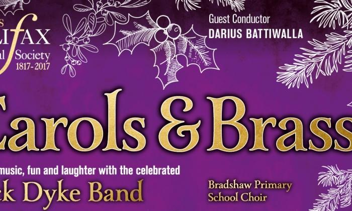 Halifax Choral Society: Carols and Brass