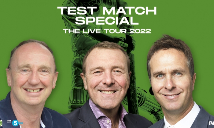 Test Match Special Live with Phil Tufnell, Michael Vaughan & Jonathan Agnew