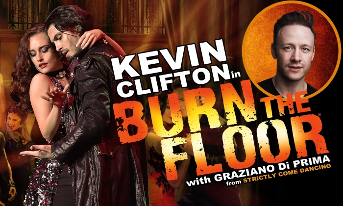 Kevin Clifton in Burn The Floor with Graziano Di Prima
